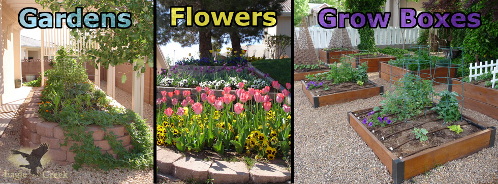 Gardens & Grow Boxes in St. George, Utah