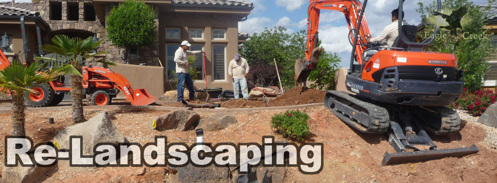 Re-Landscaping In St. George, Utah